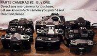 Various Brands Cameras for Parts #2 | From USA | $8.95 ANY ONE CAMERA  | Read |