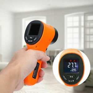 Infrarot Thermometer Pyrometer Laser IR Temperaturmesser Distanz 12:1 Bis +550°C