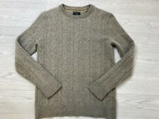HAMMOND & Co Beige Cable Knit Wool Blend Sweater Small