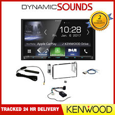 Kenwood DMX7017DABS DAB+ Bluetooth Stereo Upgrade Kit for Nissan Qashqai 2007-13