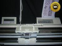 Silver Reed Elektronische Strickmaschine Sk 840 + Srp60n Ribber+Ec1+Pe1