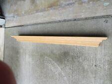 "Solid Oak Mantel 79"" x 8"" Hardwood Fireplace Hearth Wall Shelf"