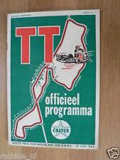1963 DUTCH TT ASSEN PROGRAMME GRAND PRIX MOTO GP,RENNPROGRAMM HONDA A
