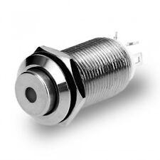 Durable Auto 2.5V Led Light Push Button Switch Self-Locking 12Mm