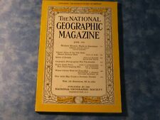 VINTAGE NATIONAL GEOGRAPHIC June 1959 HAWAII VOLCANOES State Island Ferry CANADA
