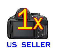 1x Clear LCD Screen Protector Guard Shield Film For Nikon Digital SLR D5200