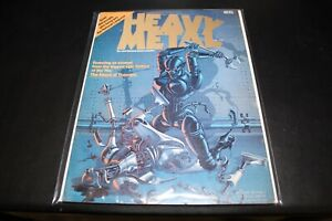 Heavy Metal Magazine Issue 1 April 1977 VG-F Ships Free!