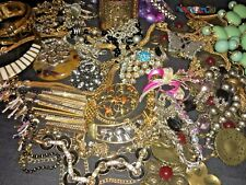"""Vintage Now Estate Find Jewelry Lot, """"JUNK DRAWER"""" Unsearched Untested"""