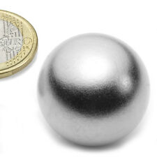 Super Magnete Sfera al Neodimio Diametro 30 mm Potenza 13 Kg. K-30-C