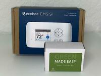 ecobee EMS Si Commercial Wireless (WiFi) Thermostat + Commercial Power Extender