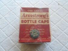 ARMSTRONG'S BOTTLE CAPS-NEW OLD STOCK-1 GROSS-UNOPENED-LANCASTER CORK