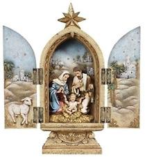 Joseph's Studio by Roman Holy Family Triptych Figurine, 10-Inch