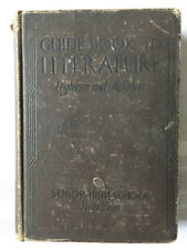 Guide Book to Literature - Senior High School - 1926 - Antique Acceptable