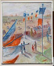 Alain SERFATY - '' Cabourg, Un jour de 14 juillet - Promenade Marcel Proust ''