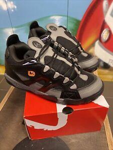 scarpe skate Es Scheme grey black  us9 eu42 uk8 shoes osiris d3 rave goa tekno