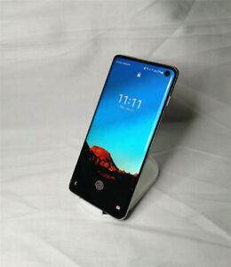 Original Samsung Galaxy S10 SM-G973U 128GB Prism White Unlocked Mobile Phone