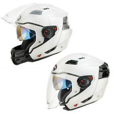 Casco da Moto Scooter con mentoniera staccabile Airoh Executive Bianco lucido Non applicabile XS