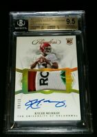BGS 9.5/10 KYLER MURRAY RC AUTO GOLD HOLO /10 ROSE BOWL SSP ROOKIE 2019 Flawless