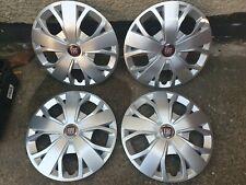 """Genuine Set of Fiat Ducato 16"""" Wheel Trims Hub Caps x4 Scudo"""