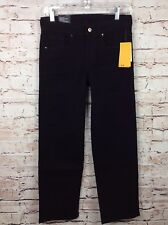 H & M Divided Size 2 Straight Cropped Black Women's Kick Flare Ankle Pants Jeans