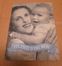 LAIT MONT BLANC ancien livret publicitaire produits Mont Blanc mère bébé v1950