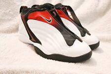 Rare Nike Air Flight 1999 (Sz 8) {Wht/Blk/Red} Bred