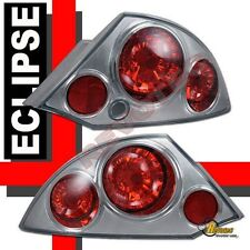 2000 2001 2002 Mitsubishi Eclipse Gt Chrome Tail Lights Lamps 1 Pair Fits 2002 Mitsubishi Eclipse