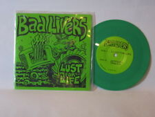"""Bad Livers - Lust For Life 7"""" NM- GREEN WAX RARE Iggy Pop Stooges cover"""