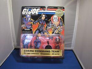 GI Joe 1997 TRU exclusive Cobra Command Team 3 Pack In Package
