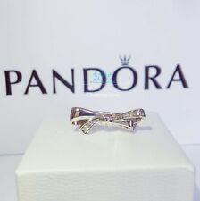 New Authentic Pandora Brilliant Sparkling Bow Ring #197232CZ RRP£50