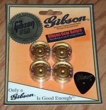Gibson Les Paul Knobs Speed Gold Set Guitar Parts Custom R9 SG V ES HP R7 NOS