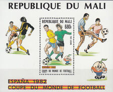 Mali Nr. Bl. 20**(911**) Fußball WM 1982 Spanien / Football World Cup 1982 Spain