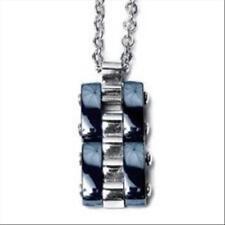 Collana Uomo Boccadamo Agr046 Ciondolo acciaio 316l ceramica Blu Steel Armband
