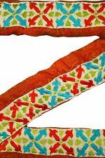 Indian Sari Border Women Antique Sari Trim Ribbon Hand Embroidered ST1565