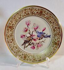 1972 Lenox Boehm Birds Mountain Bluebird Collector Plate Excellent no box
