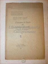 Piccione: Pensiero di DANTE e Programma D. ALIGHIERI 1906 Santiago del Chile