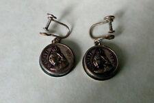 Agate Silver Earring Victorian Fine Jewellery