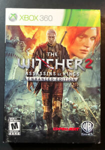 The Witcher 2 Assassins of Kings Enhanced Edition Box Set (XBOX 360) USED
