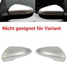Für VW Golf VI Schrägheck Touran 1T Außenspiegel Abdeckung Deckel Gehäuse Silber