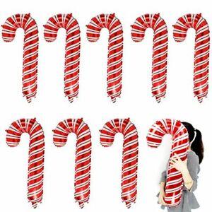 8pcs Large 82*37CM Christmas Aluminum Foil Balloons for Xmas Party-Decorations