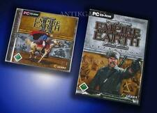 Empire Earth II 2 & Addon the Art of Supremacy = Gold PC Deutsch