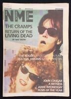 NME 4 January 1986 The Cramps Cover Pogues John Cougar Colonel Abrams A Witness