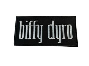 Biffy Clyro Sew / Iron On Music Festival Embroidered Badge
