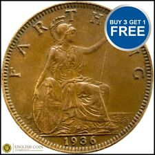 1911 to 1936 George V Bronze Farthing Choice of Date