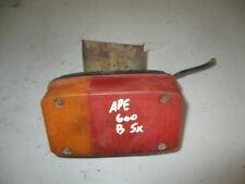 Fanale Posteriore Sinistro Stop Faro Luce Fanali Fari Piaggio Ape 600 1970 1978