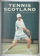 Andy Murray signed 2004 Tennis Scotland year book 16 years old