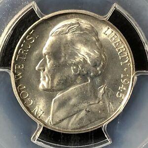 1945-S 5C Jefferson Nickel PCGS MS64        35566310