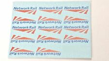 HORNBY LIMA TRIANG ECT NETWORK RAIL TRANSFERS / WATER SLIDE DECAL'S PACK OF 14