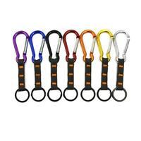Carabiner Hook Webbing Buckle Nylon Molle Belt Hanging Outdoor Key Clip Rin W3P8