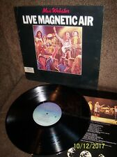 MAX WEBSTER Live Magnetic Air 1979 Anthem LP ANR-1-1019 EXC w/sleeve